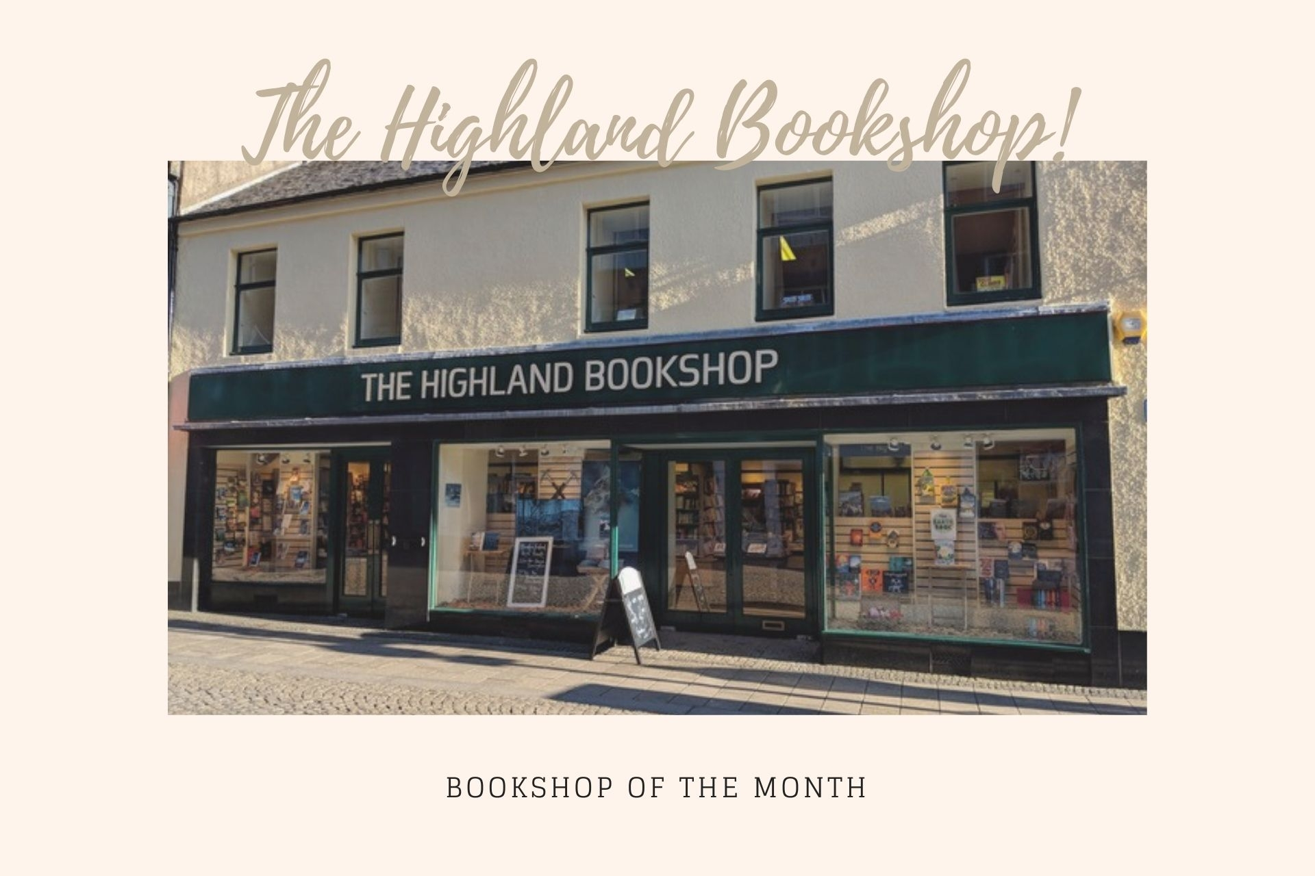 LoveReading Bookshop Feature: The Highland Bookshop (Fort William)