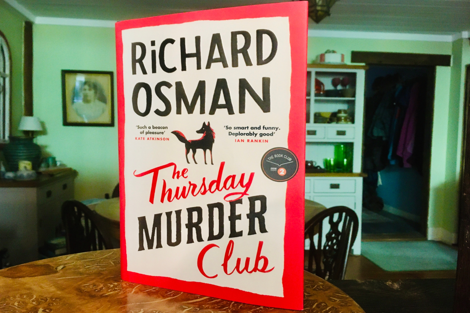 October 2020 Book Club Recommendation: The Thursday Murder Club by Richard Osman