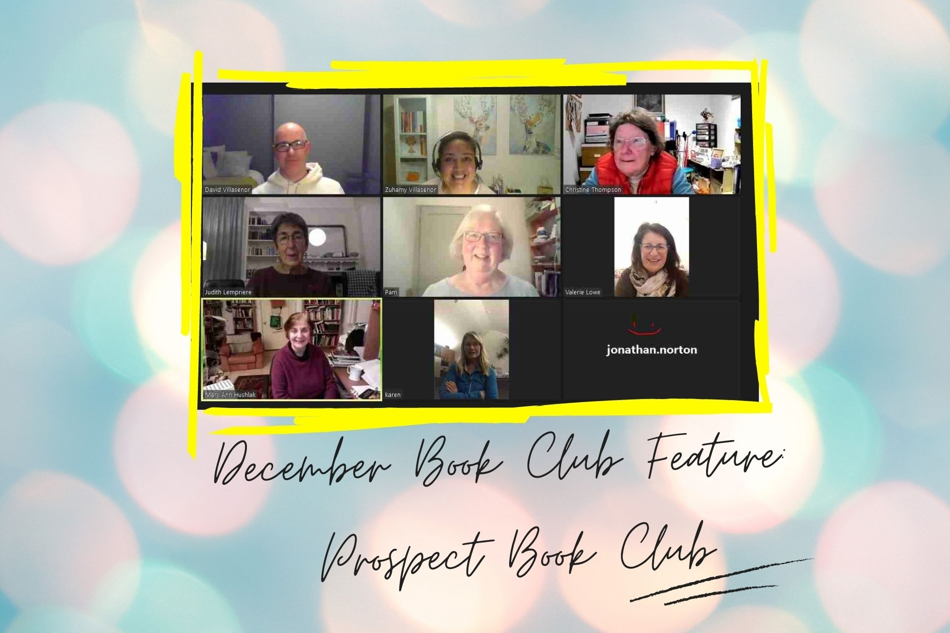LoveReading Book Club Feature #19: Prospect Book Club