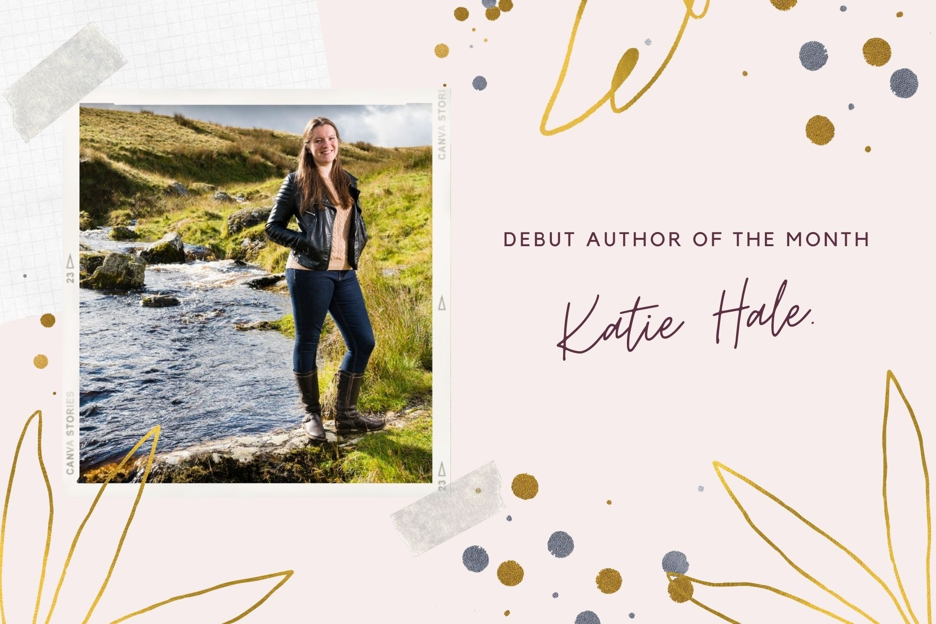 Debut Author of the Month: Katie Hale