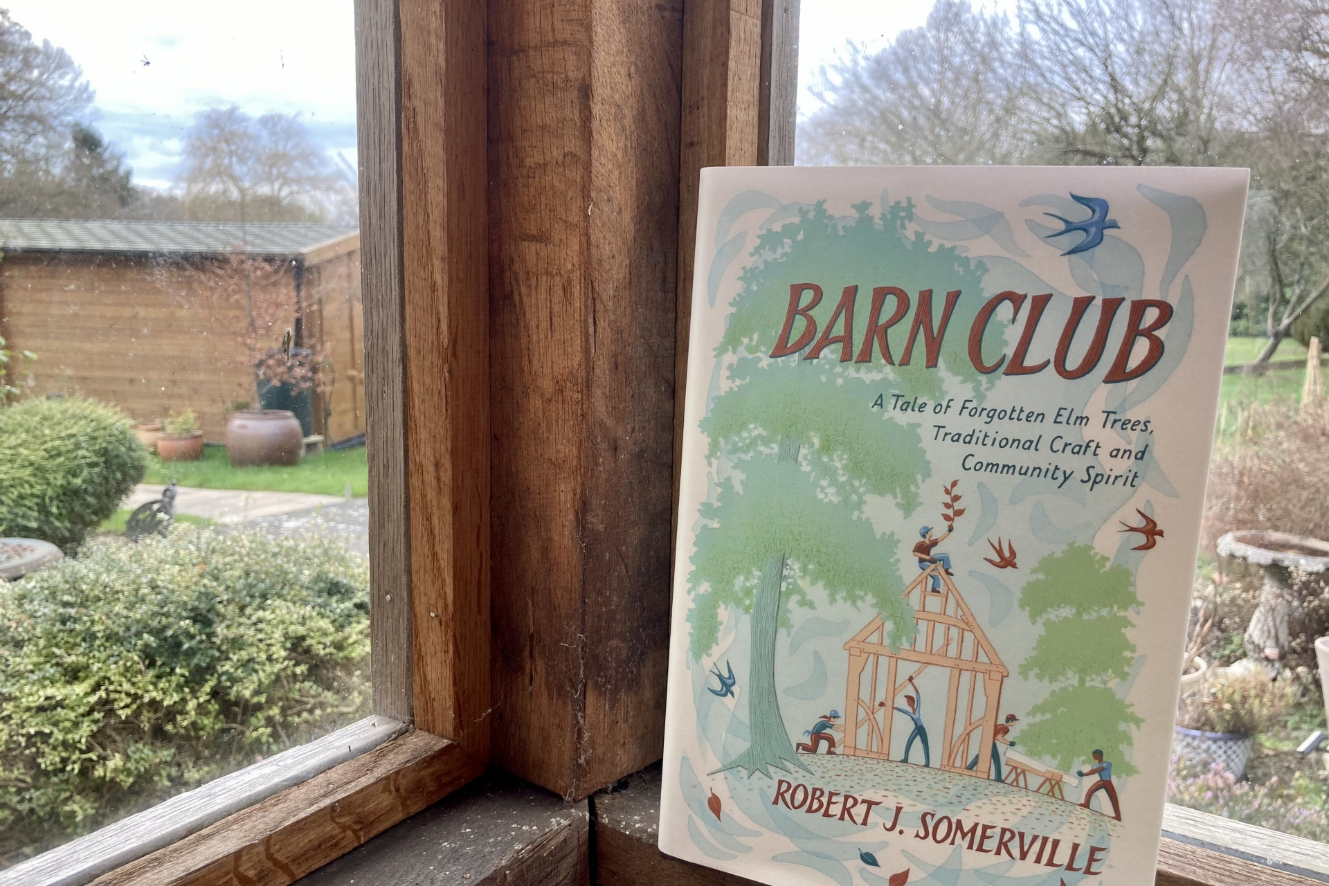 March 2021 Book Club Recommendation: Barn Club by Robert J Somerville