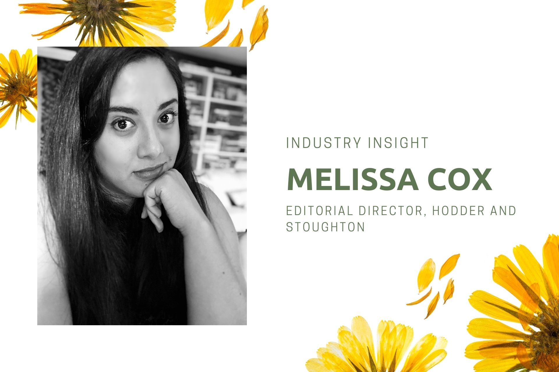 Industry Insight: Q&A with Melissa Cox, Editorial Director at Hodder and Stoughton