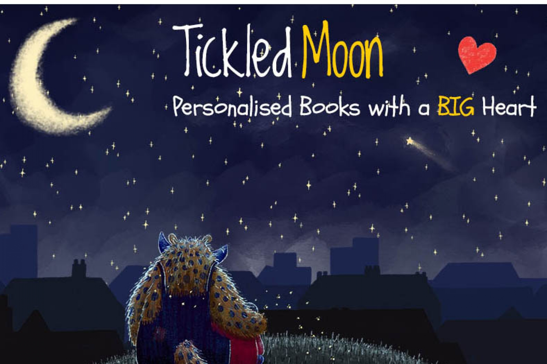 Tickled Moon - Personalised Books with a Big Heart