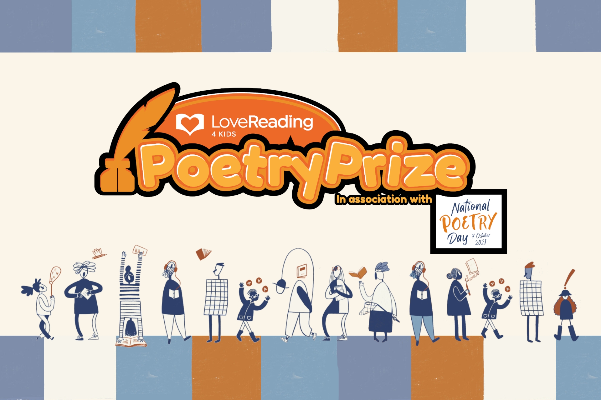 Calling All Aspiring Young Poets... LoveReading4Kids 2021 Poetry Prize is Here
