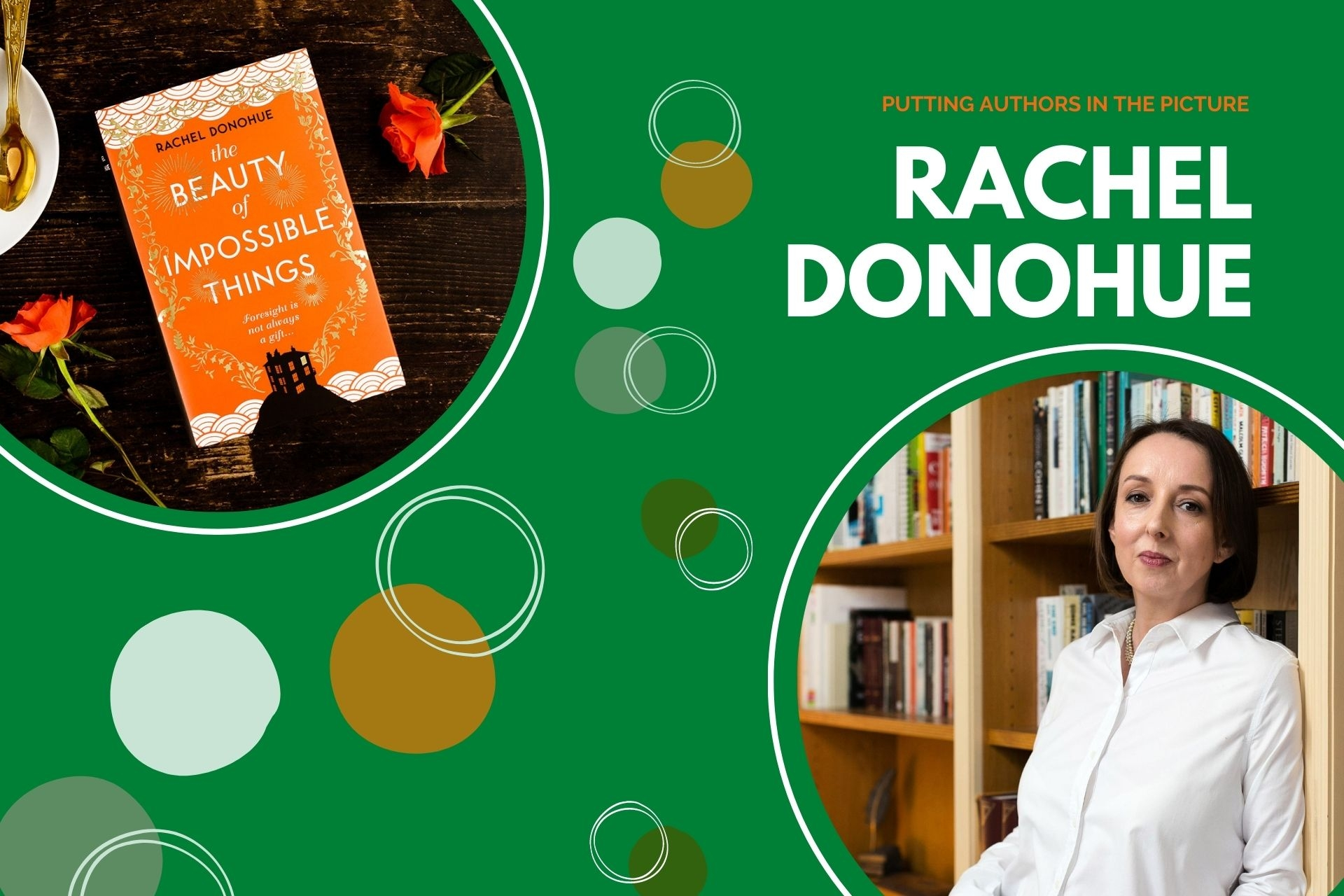 Putting Authors in the Picture #31: Rachel Donohue