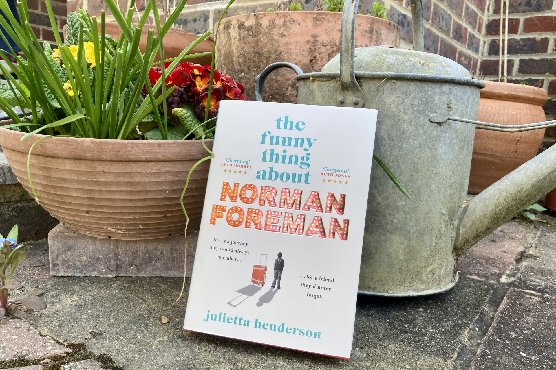 May 2021 Book Club Recommendation: The Funny Thing About Norman Foreman by Julietta Henderson