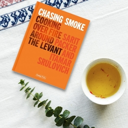 Win a Signed copy of Chasing Smoke by Sarit Packer, Itamar Srulovich of Honey & Co.