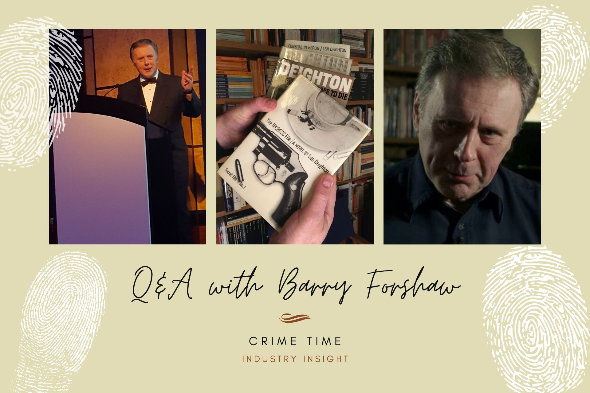 Industry Insight: Q&A with Barry Forshaw (Crime Time)