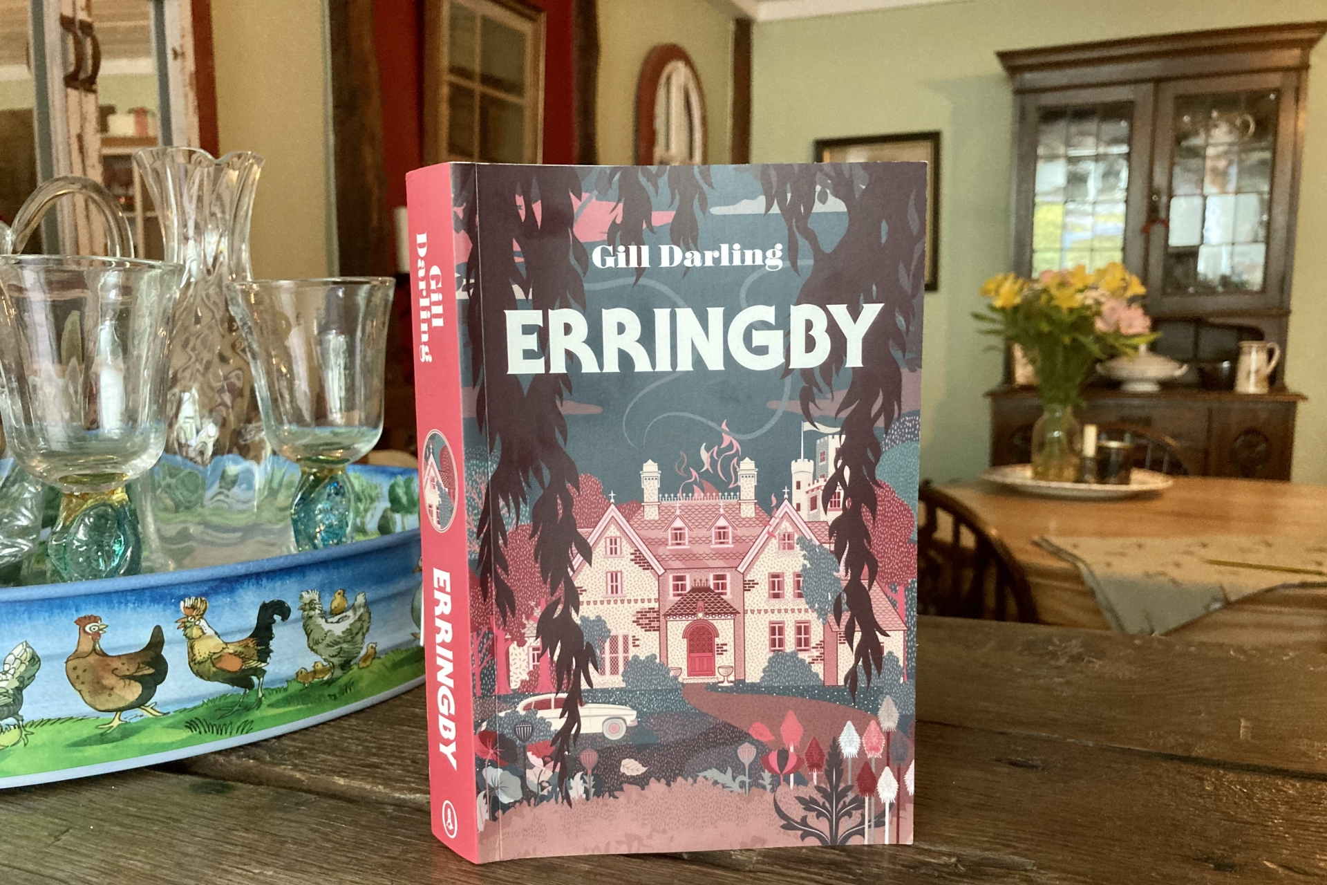 June 2021 Book Club Recommendation: Erringby by Gill Darling