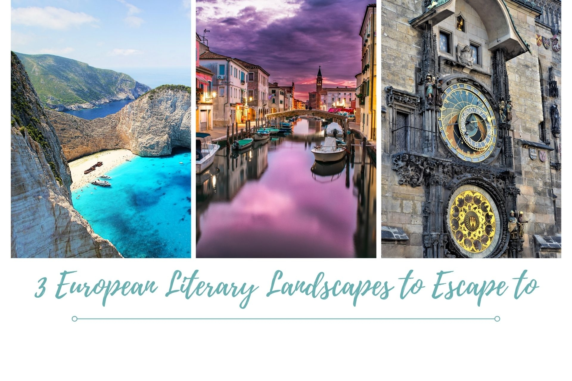 3 European Literary Lands to Escape to.