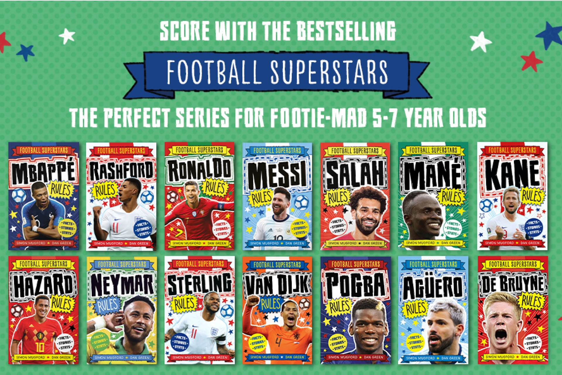 Series of the Month - Football Superstars!