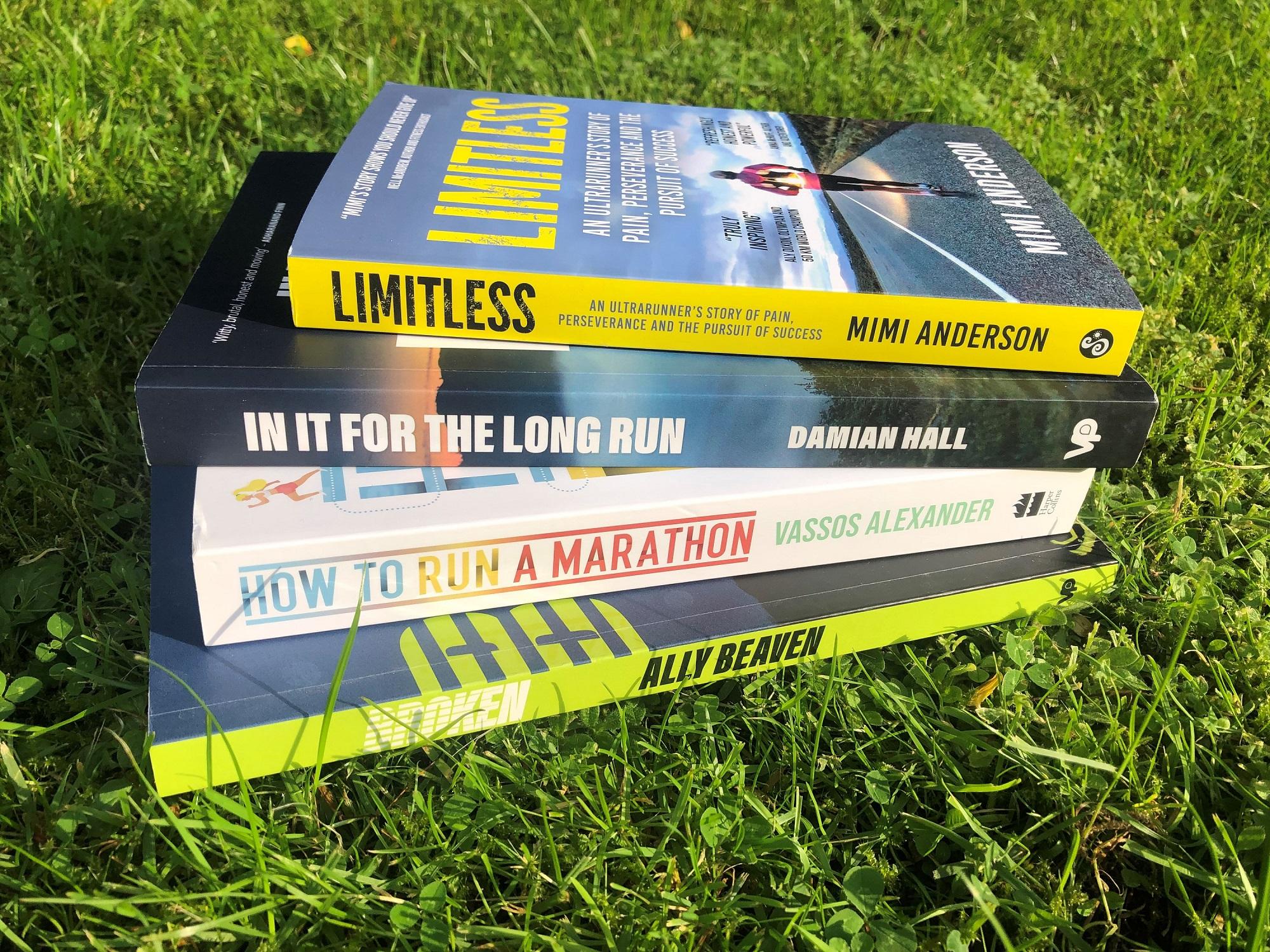 Win a bundle of running books!
