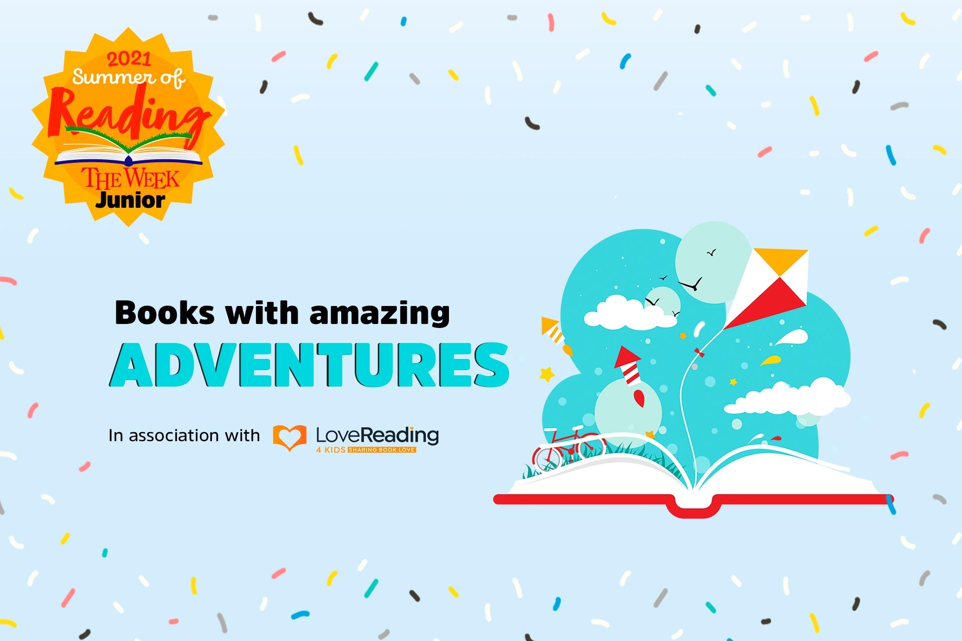 Books with amazing adventures