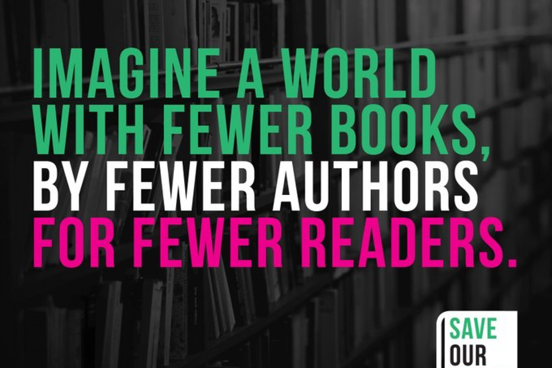 Save Our Books Campaign - Make the right call on copyright