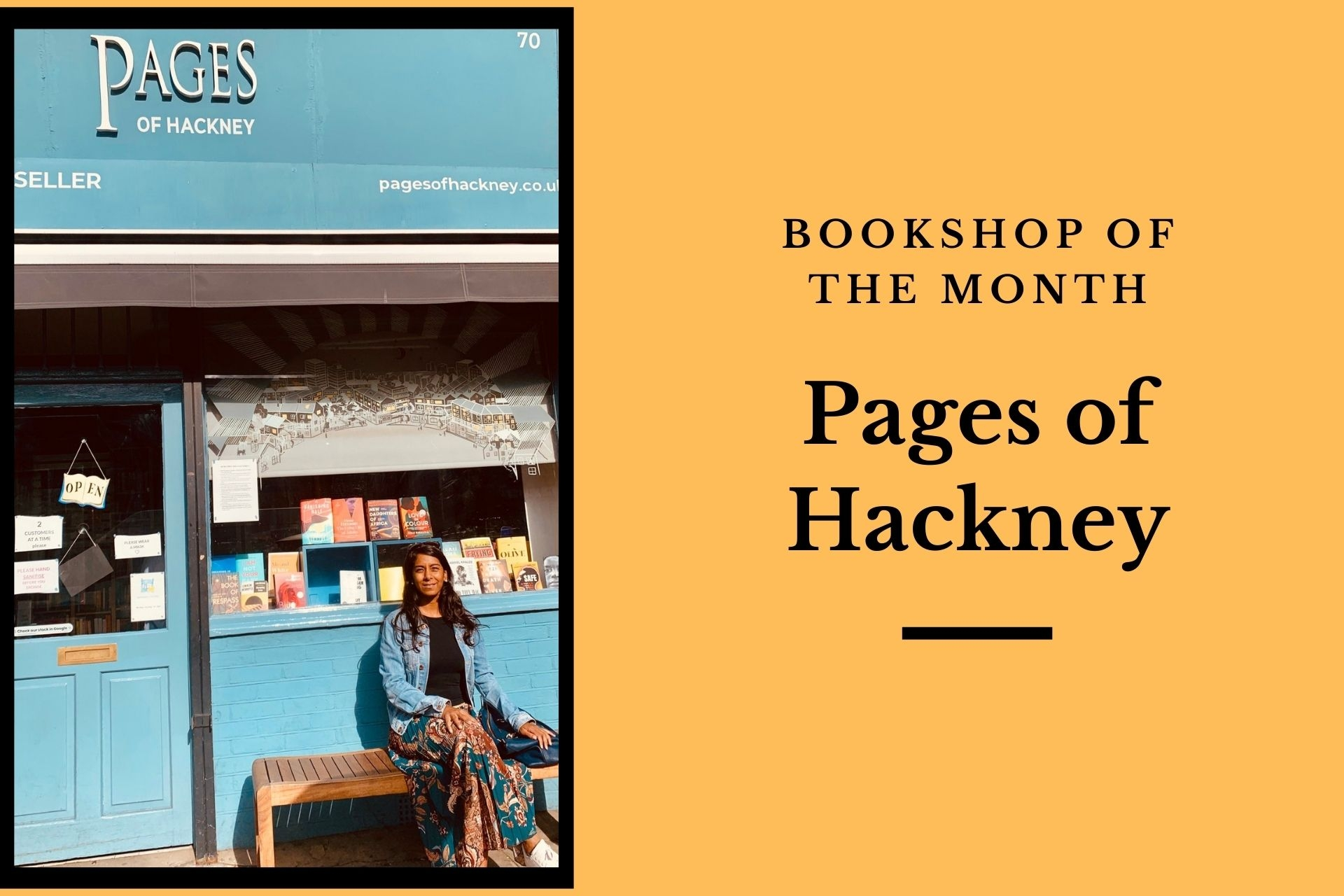 August Bookshop of the Month: Pages of Hackney