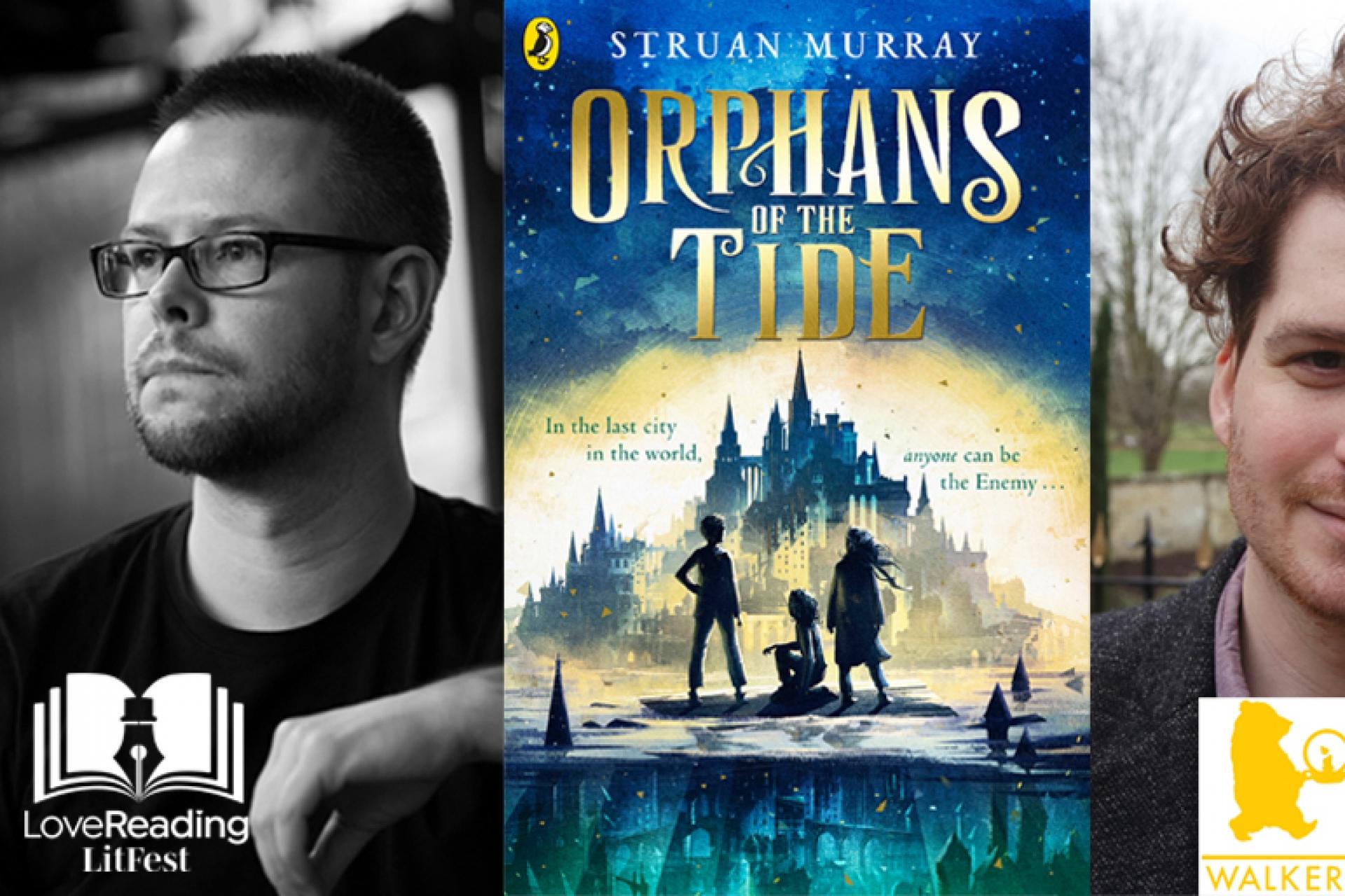 Struan Murray and Ben Horslen take the Branford Boase Award 2021 for their novel Orphans of the Tide