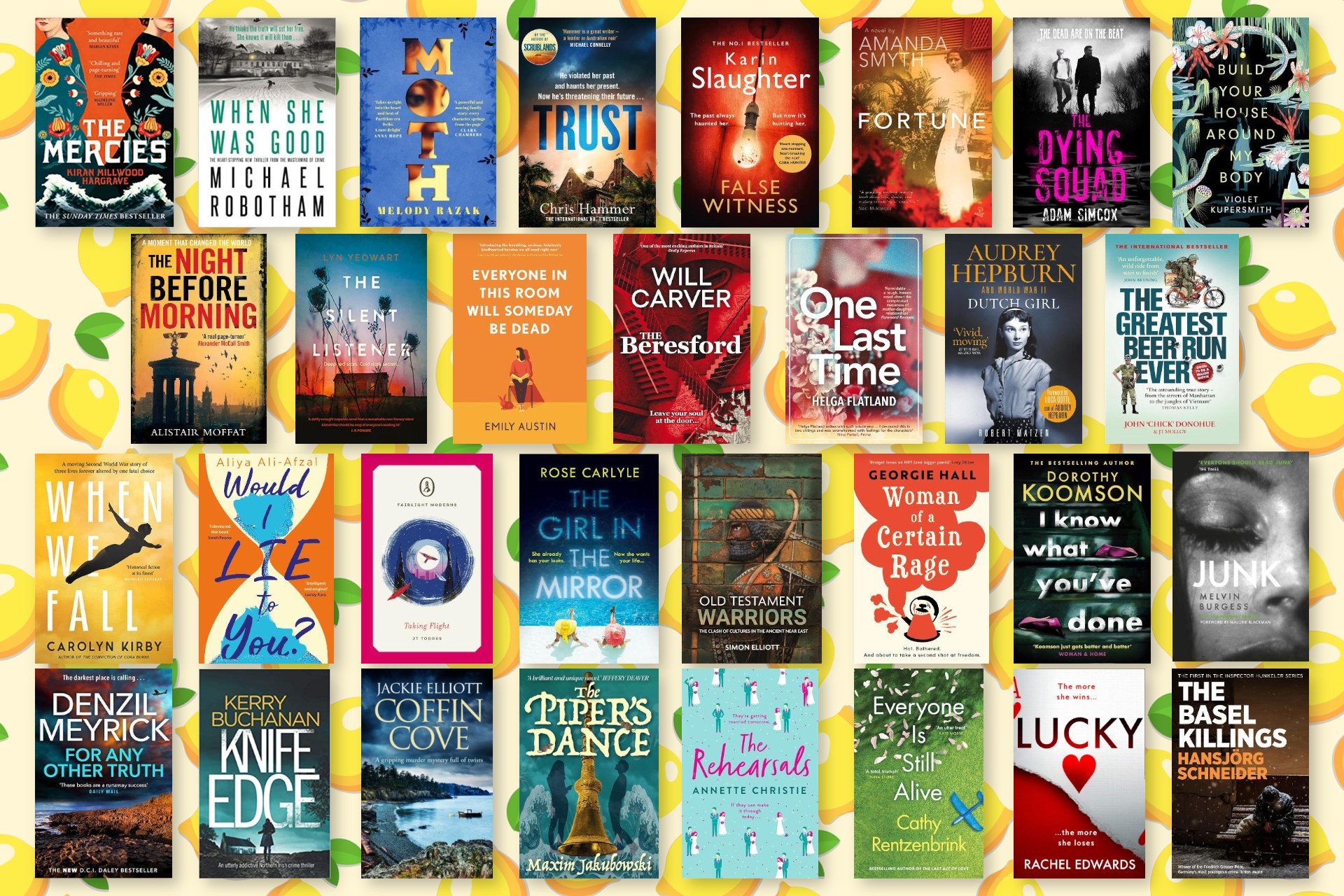 July is Nearly Over! Take a Look at our Roundup of Books We Have Loved this Month