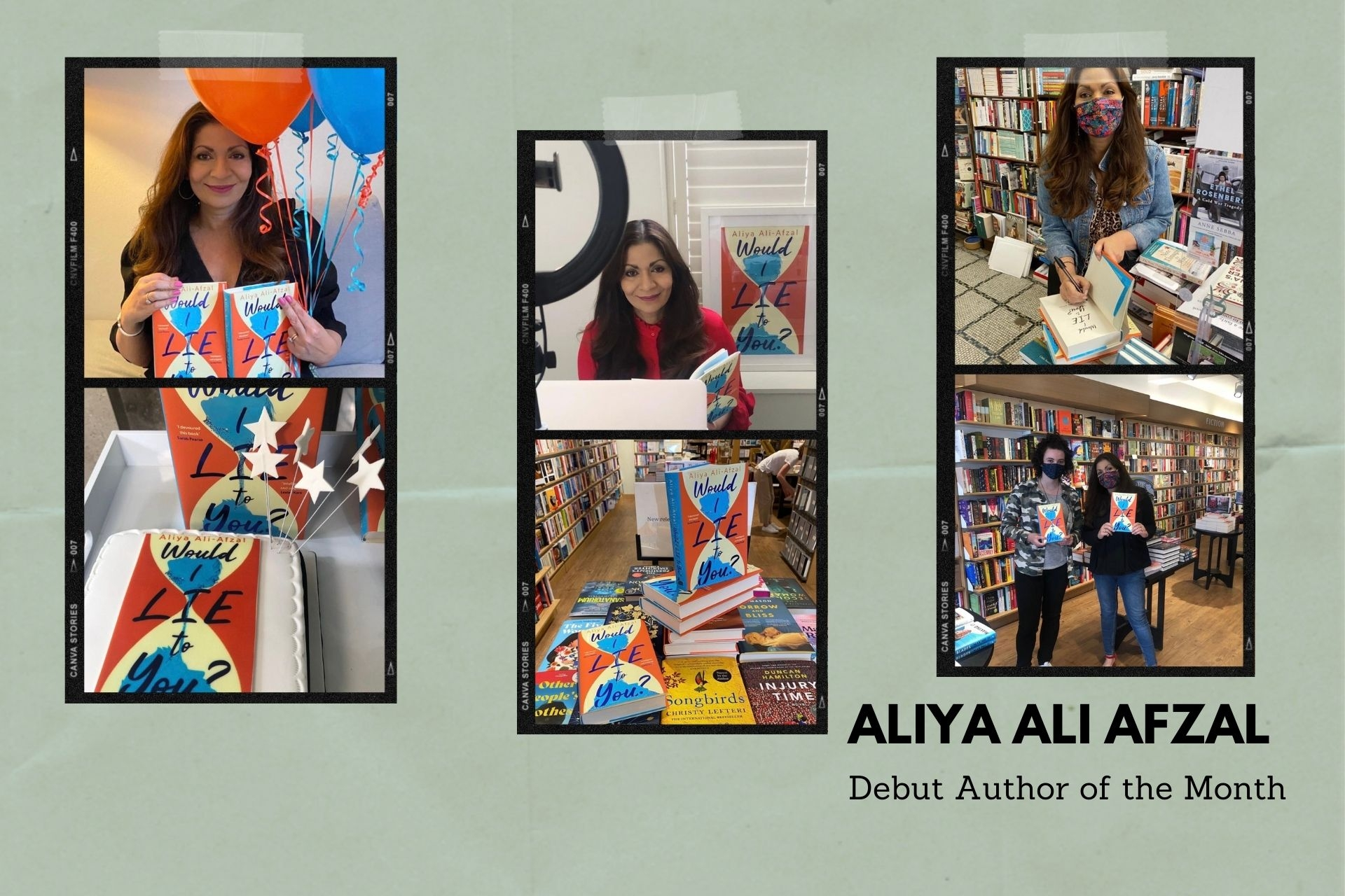 Debut Author of the Month: Aliya Ali Afzal
