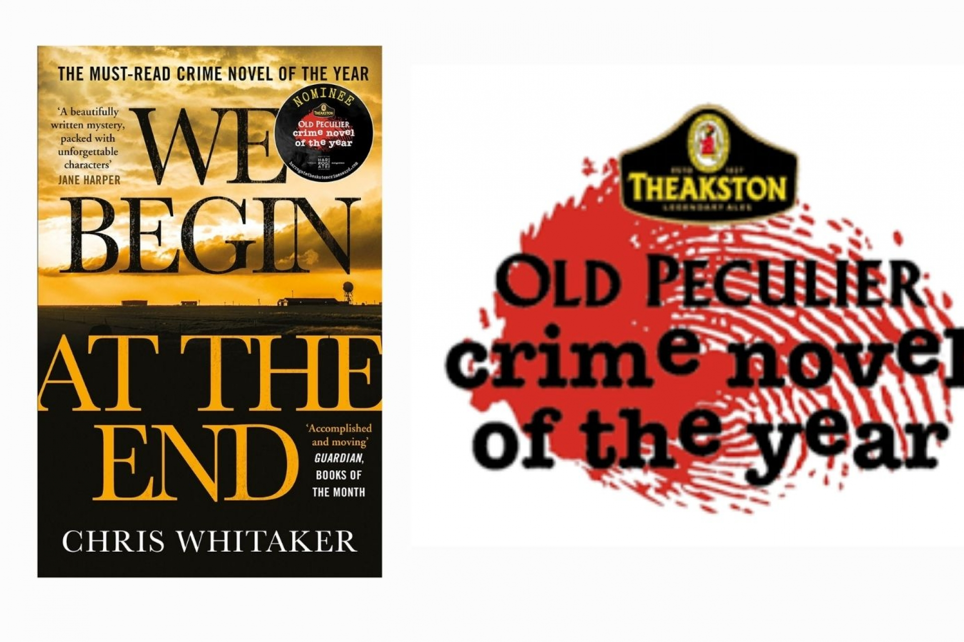 Chris Whitaker's We Begin At The End named Theakston Crime Novel of the Year