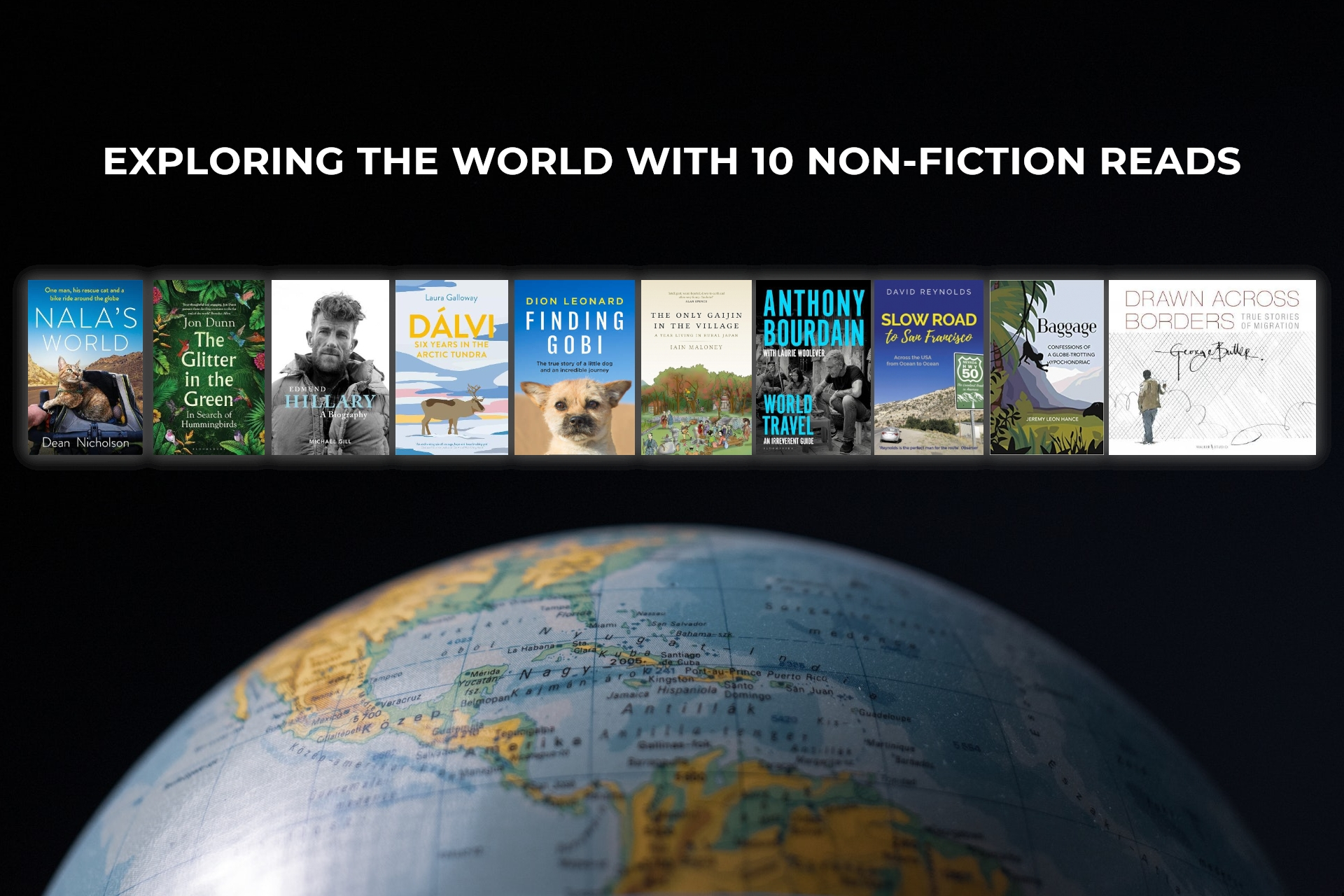 Exploring the World with 10 Non-fiction Reads