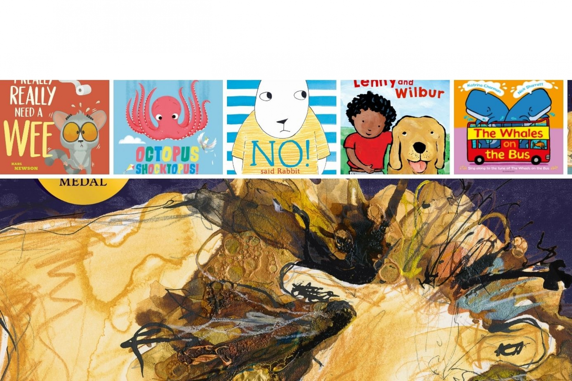 Booktrust Storytime announces the shortlist of best books for sharing with babies and children under 5