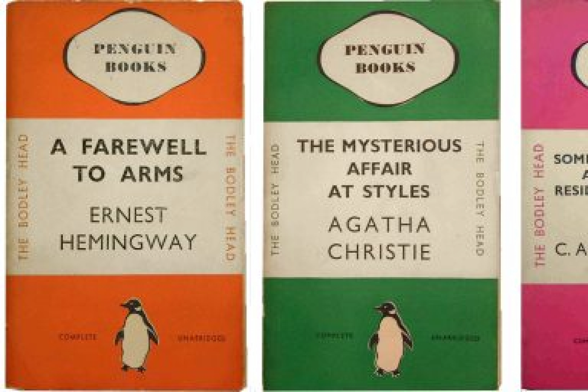 On this day July 30, in 1935 Penguin published the first paperback books