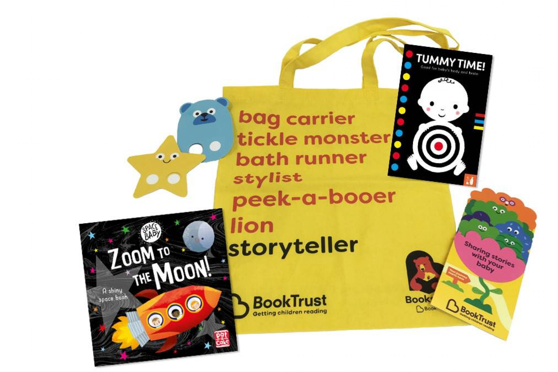 BookTrust reveals two new titles for the Bookstart Baby bag