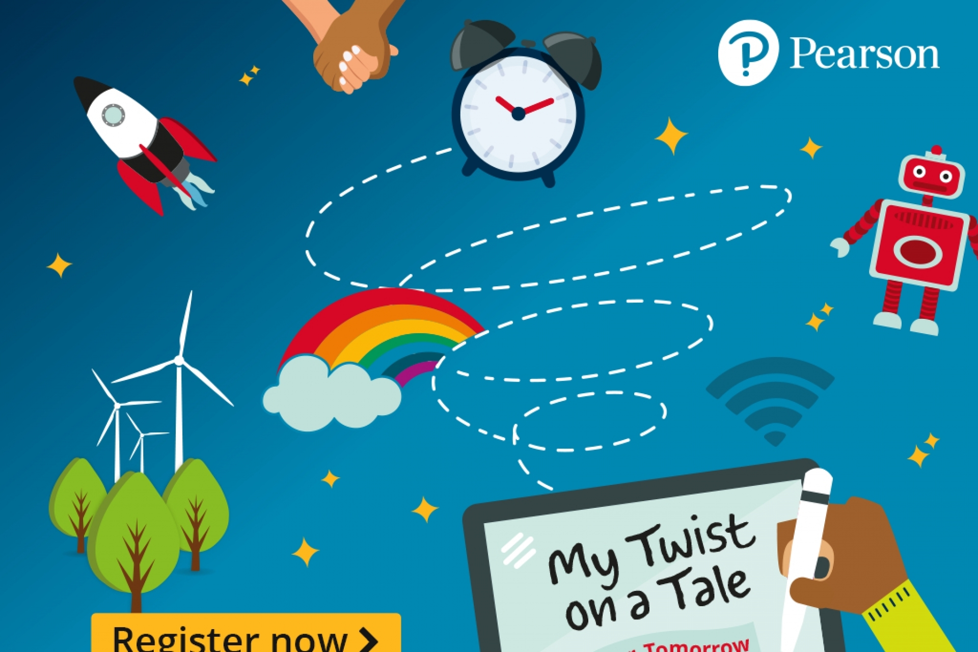 Pearson's My Twist on a Tale: Our Tomorrow writing competition now open for entries