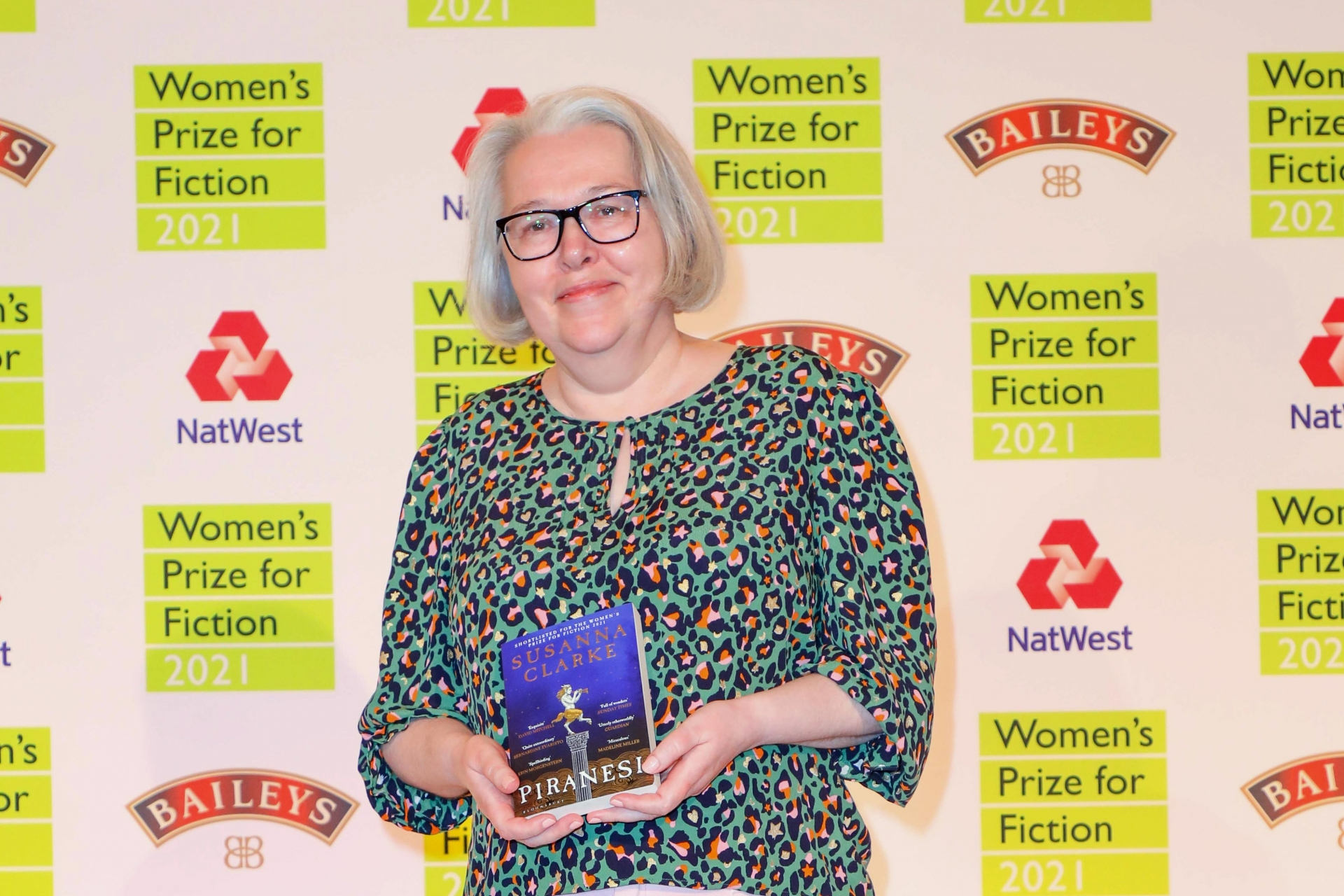 Susanna Clarke wins the 2021 Women's Prize for Fiction with her second novel Piranesi