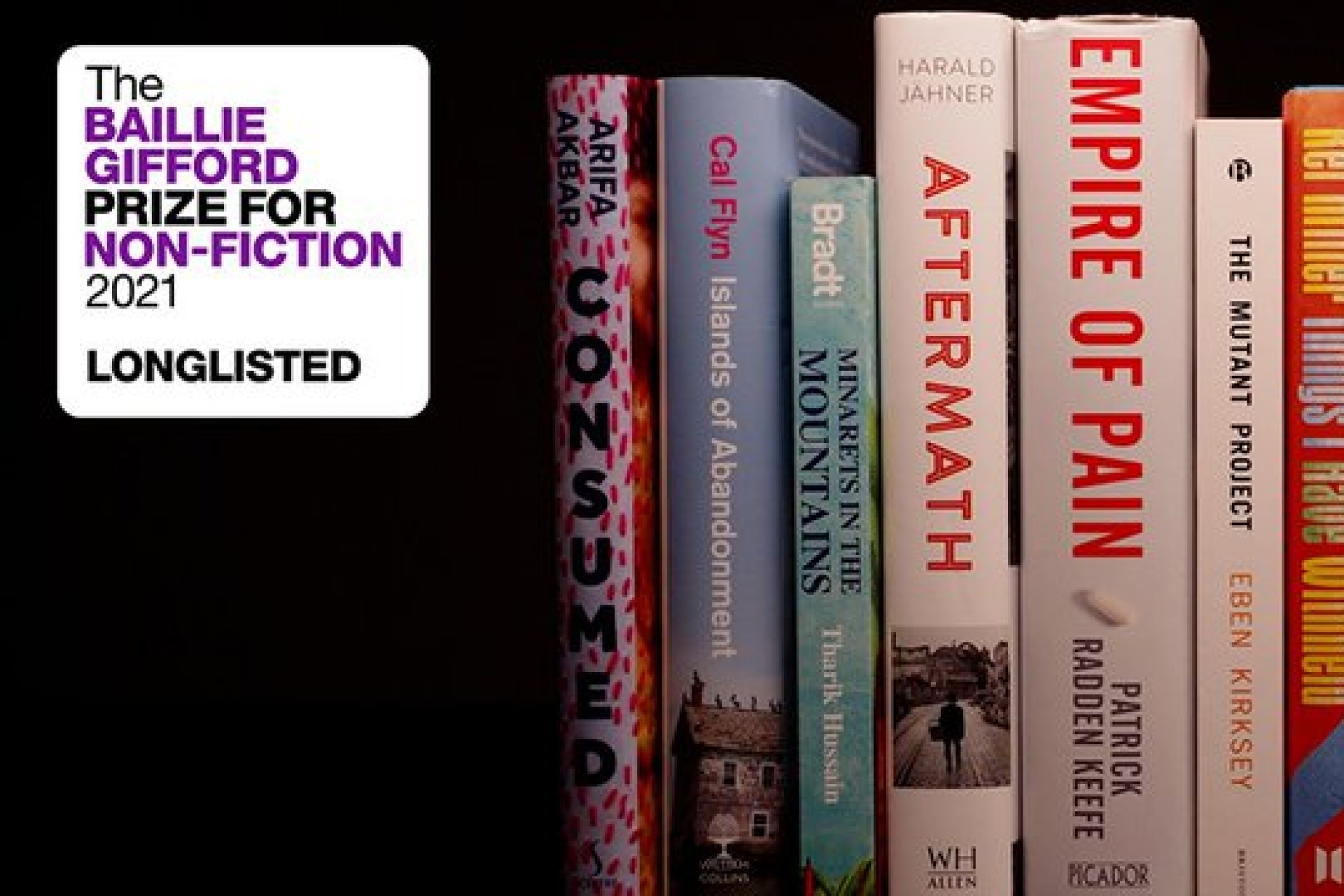 The Baillie Gifford Prize for Non-Fiction 2021 Longlist is announced