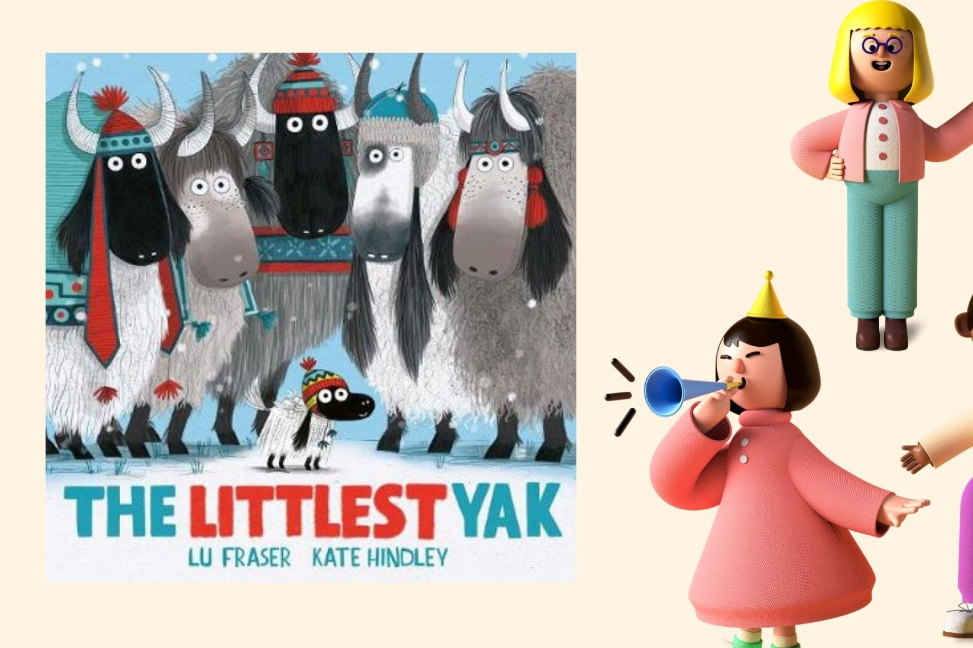 The Littlest Yak wins Book of the Year at Sainsbury's Children's Book Awards 2021