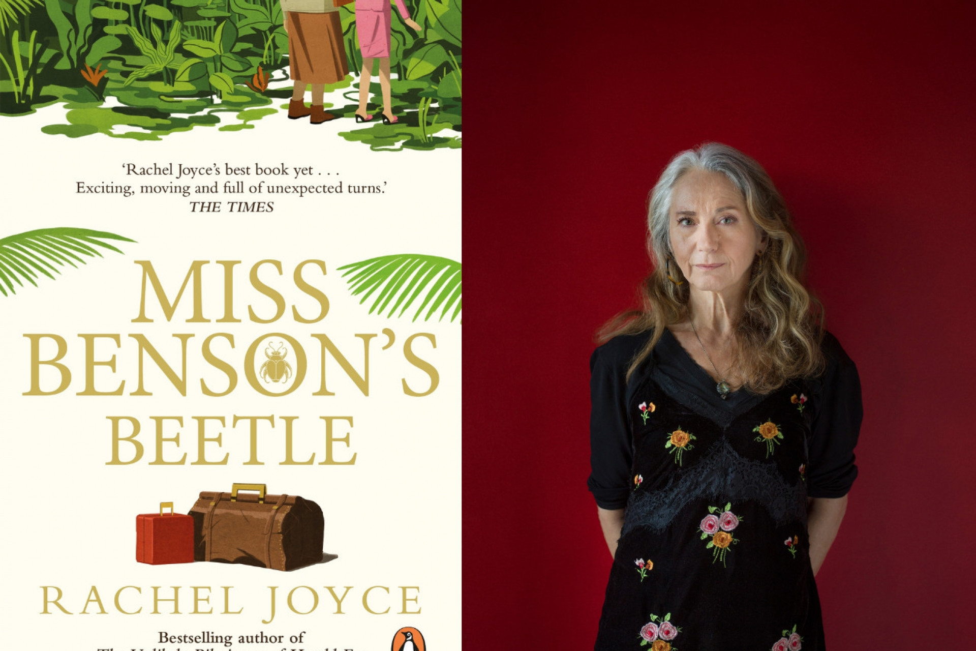 Miss Benson's Beetle takes home Wilbur Smith Adventure Writing Prize