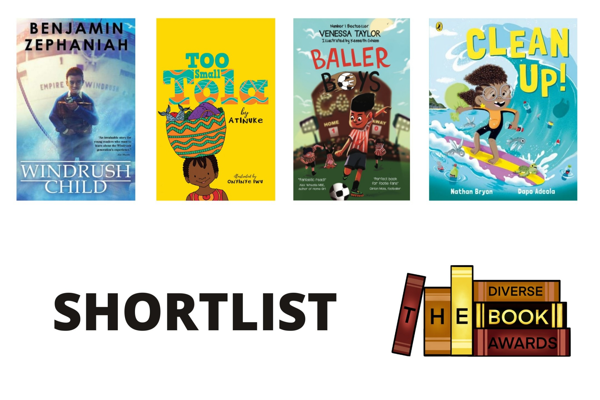 The Diverse Book Awards Announces Kids & YA Shortlists for 2021