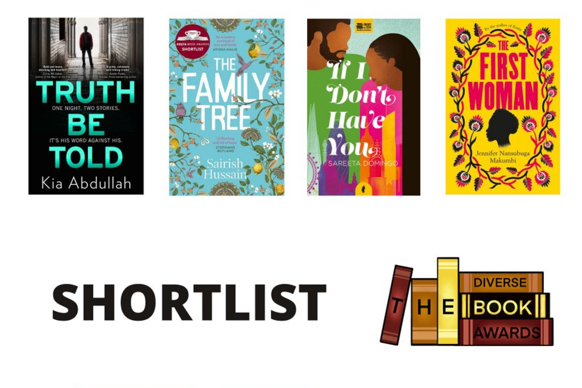 The Diverse Book Awards Shortlist for 2021 is revealed for Kids, YA and Adult