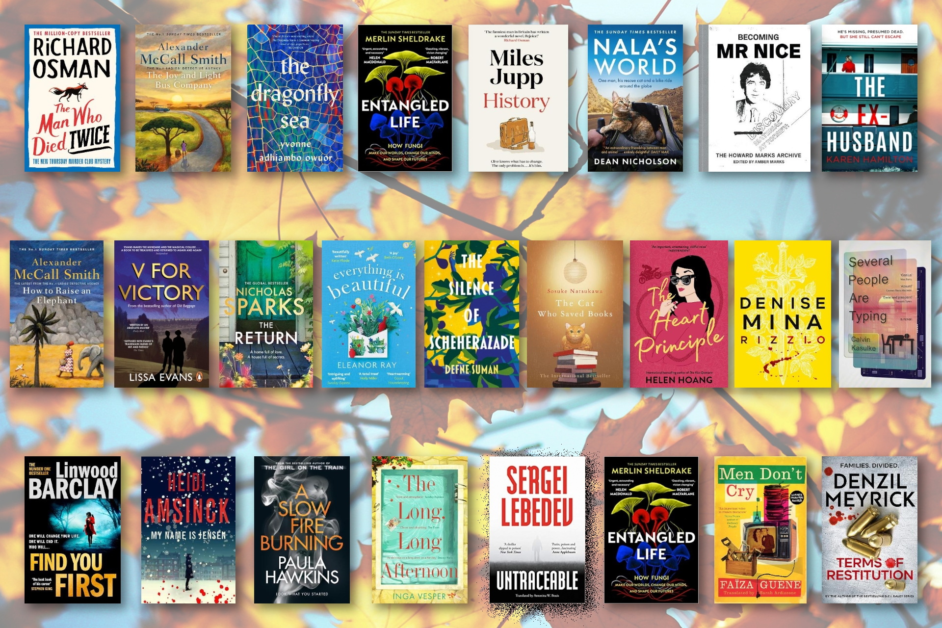 September Round-up - Here's the Books You Need to Get Your Hands on as Autumn Arrives