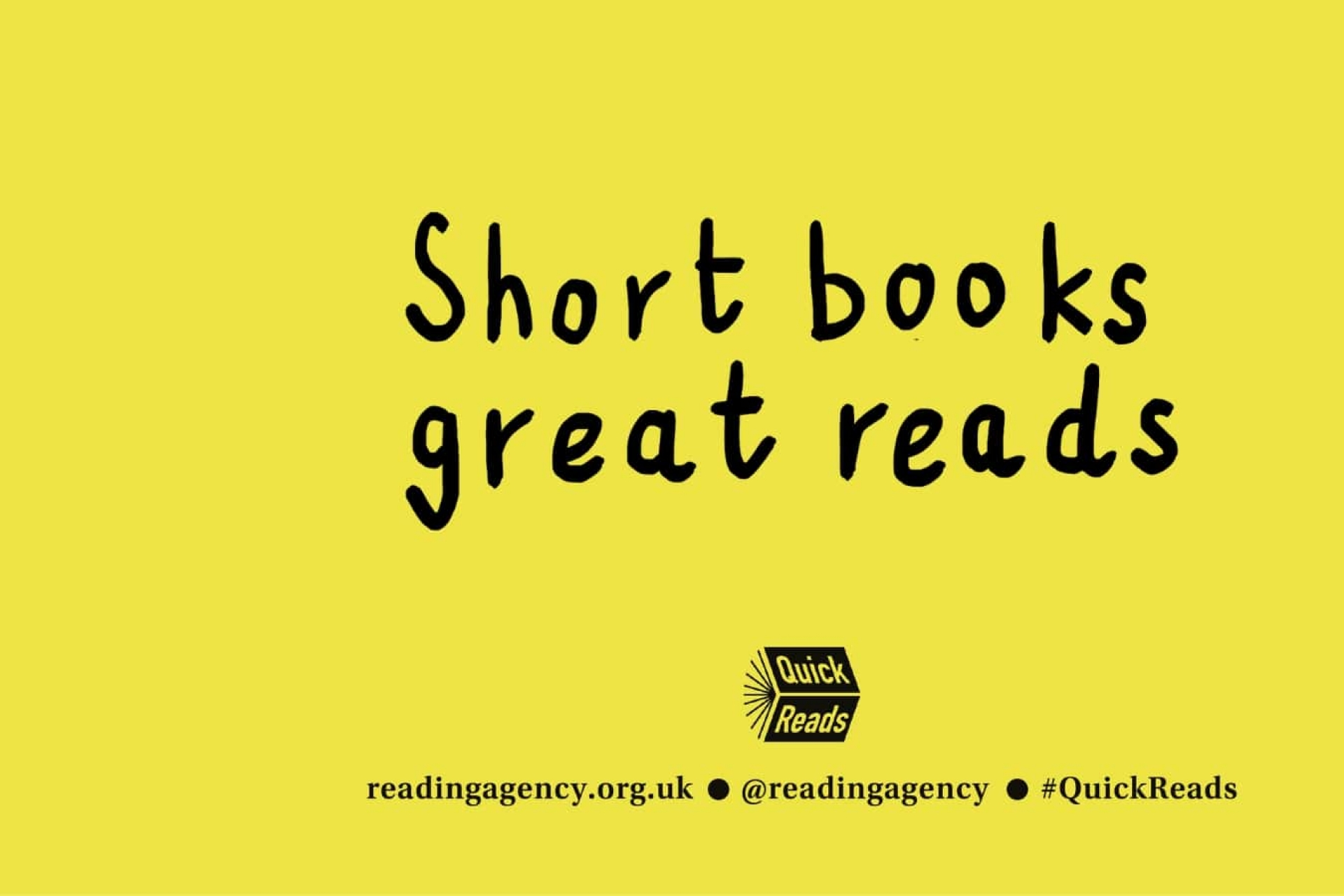 Quick Reads - Short books and great stories by bestselling authors - 2022 books announced!