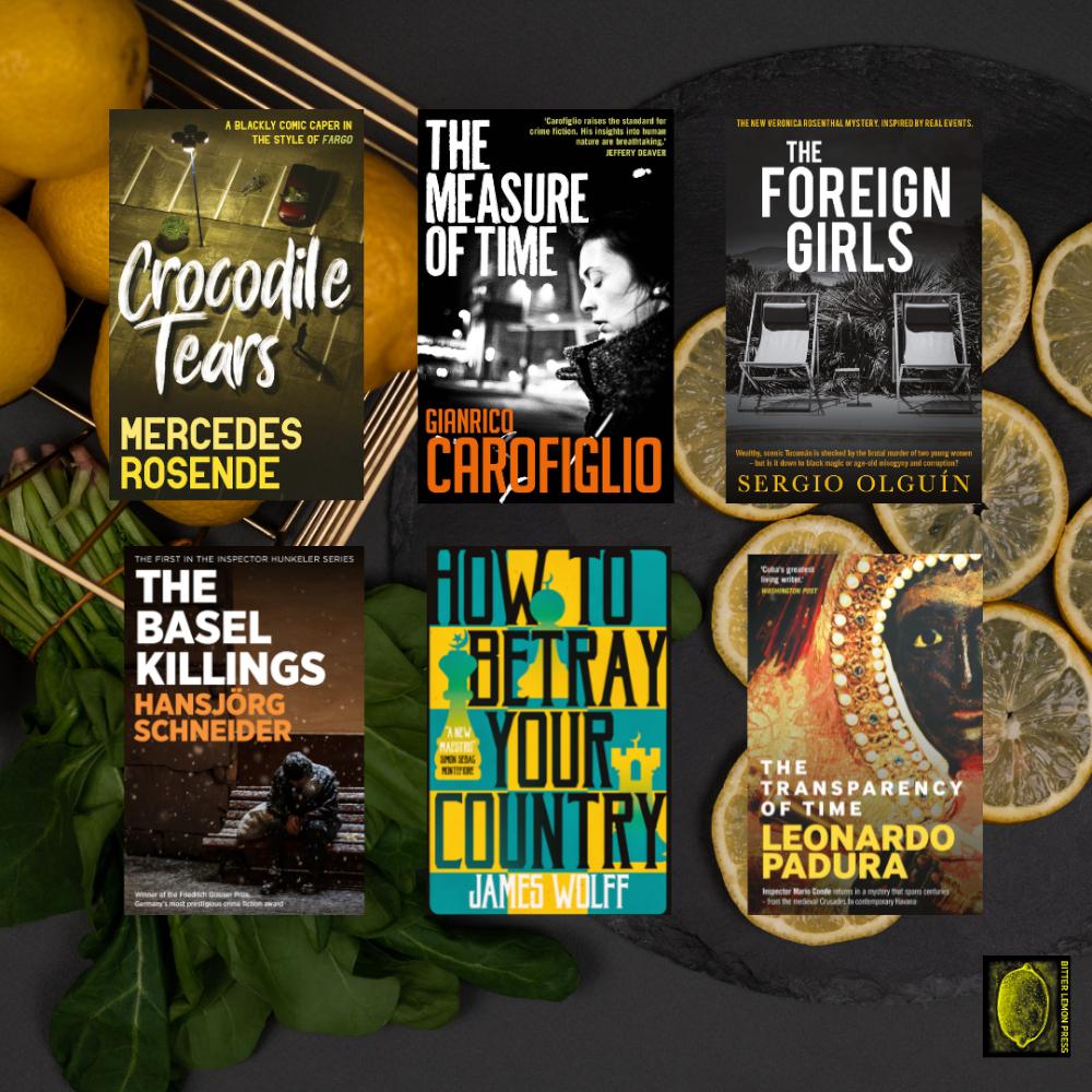 Win a Bitter Lemon Press book bundle!