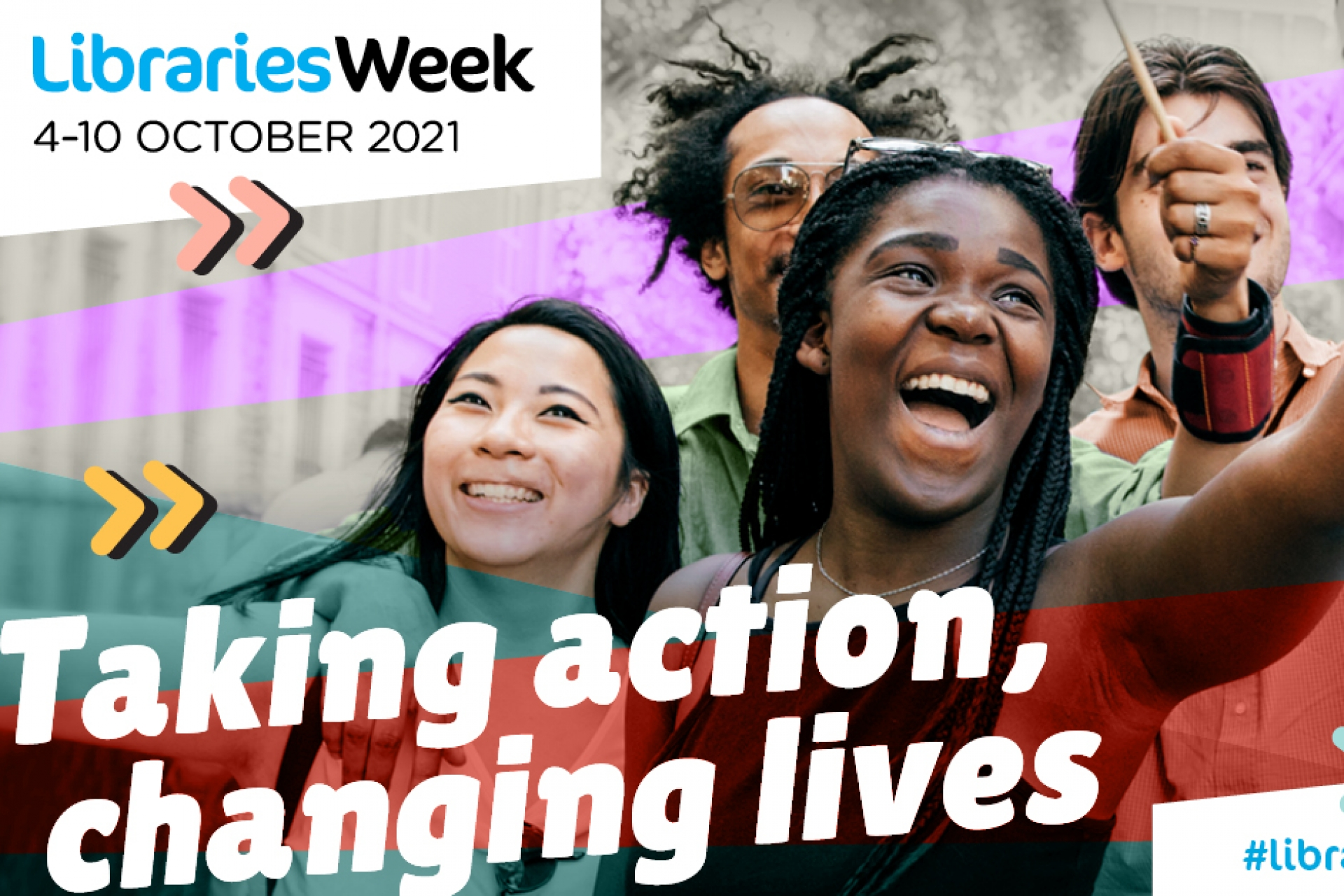 Libraries Week 2021: how has your library changed your life?