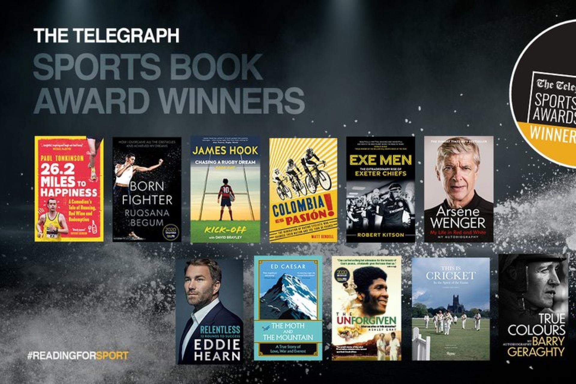 The Telegraph 2021 Sports Book Award Winners Announced