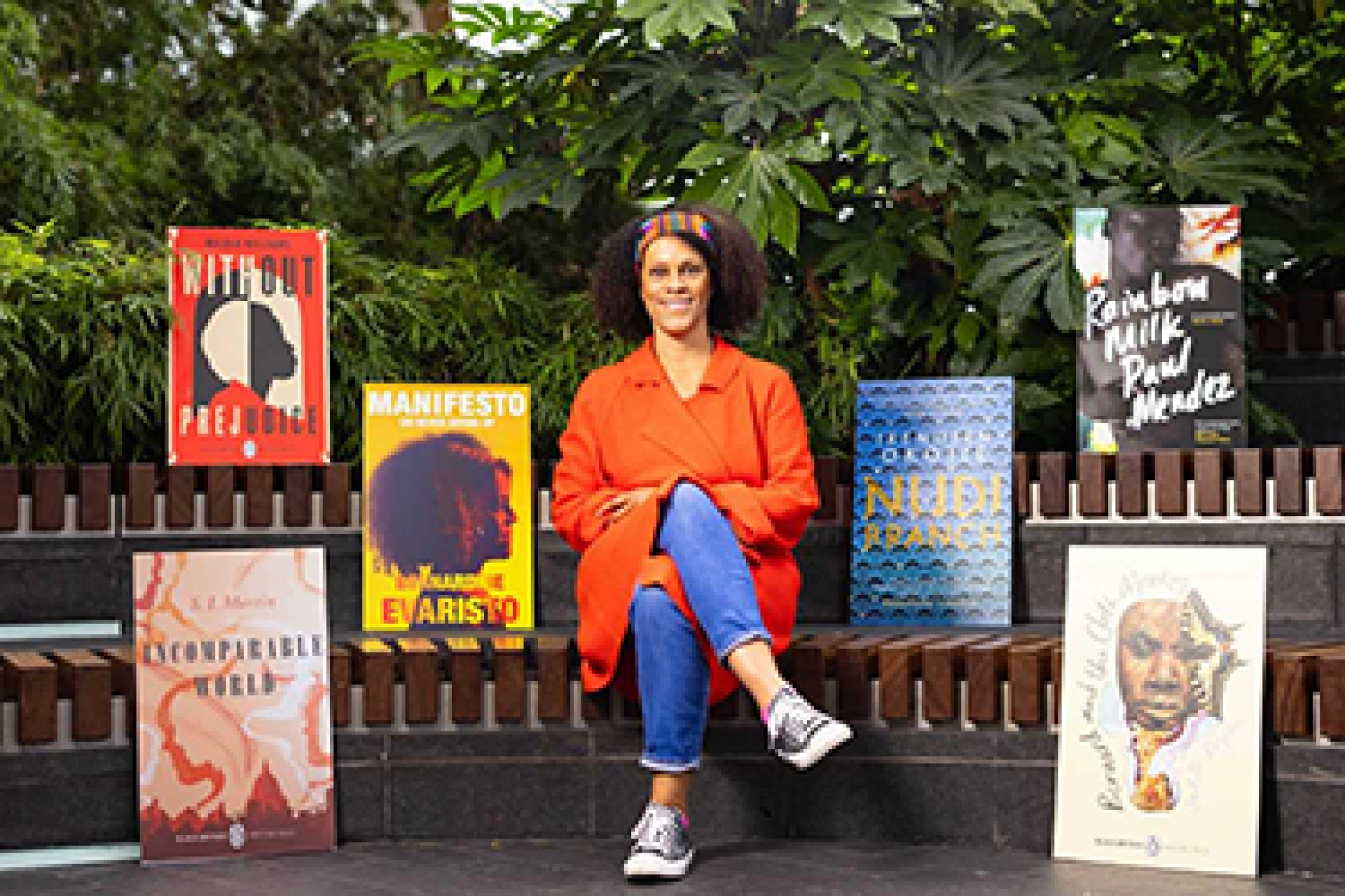 Canary Wharf's Short Story Stations to dispense stories from black authors this Black History Month with Bernardine Evaristo