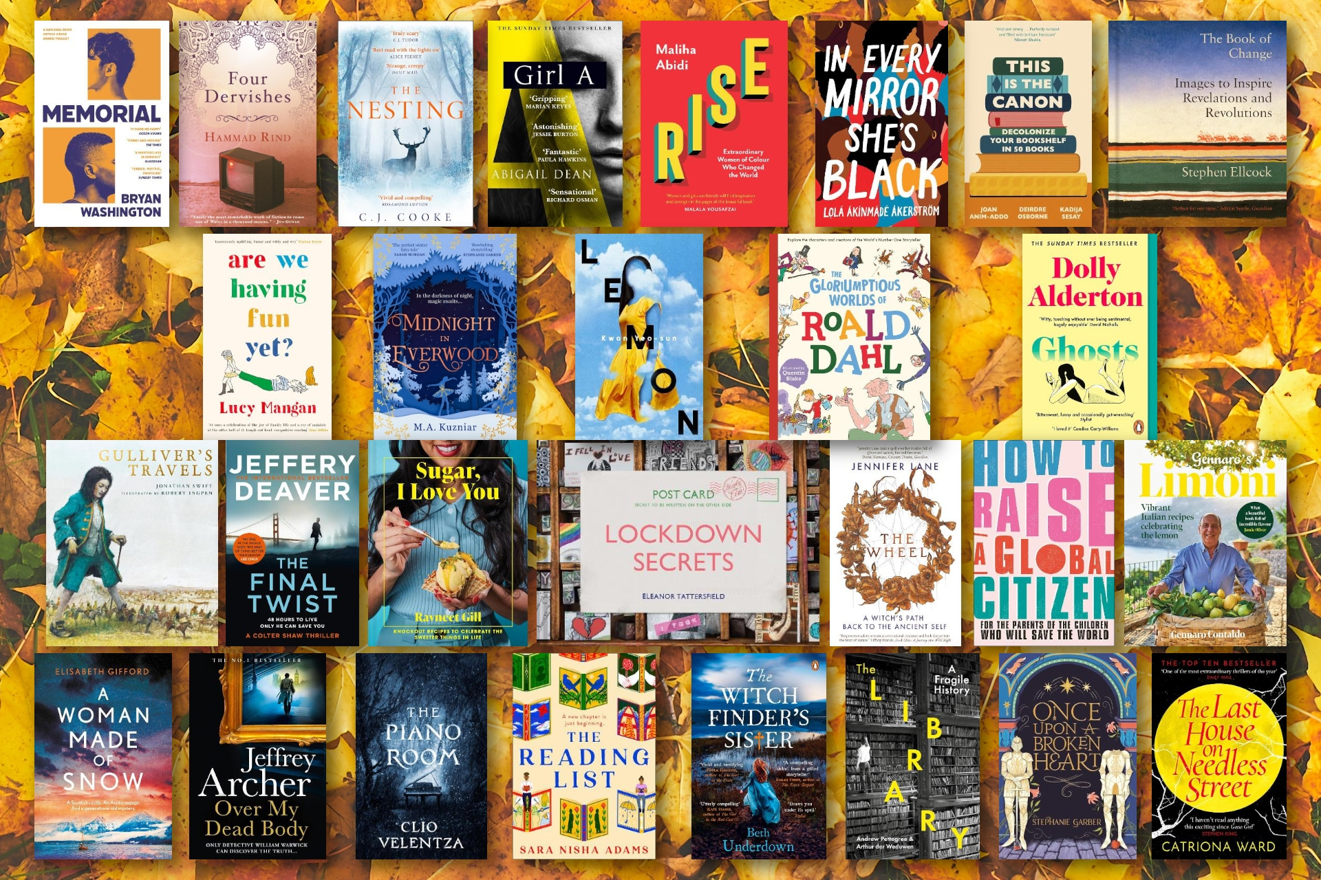October Round-up: Some of the Books That We've Loved Reading This Month!