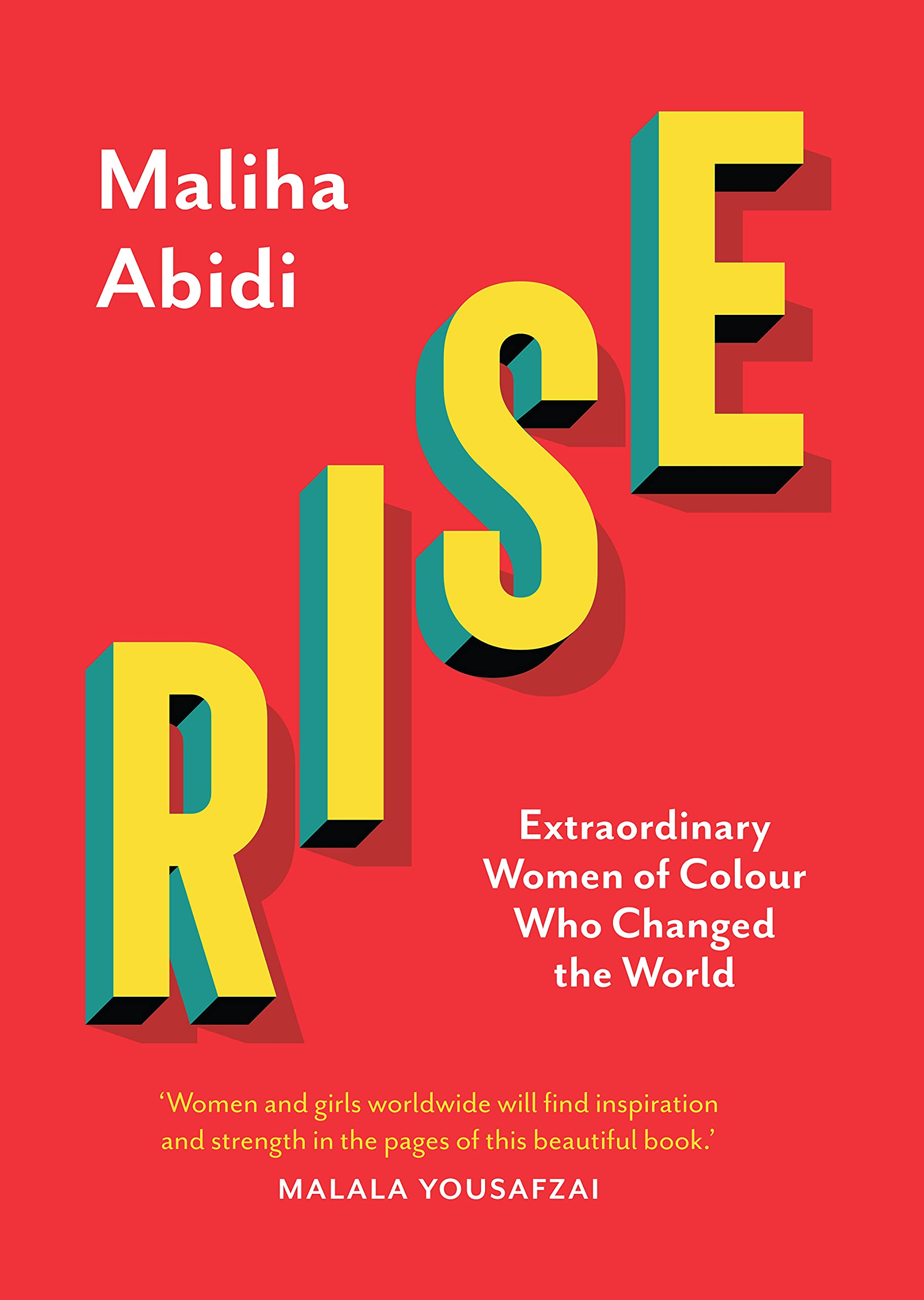 Win a Copy of Rise and a signed postcard from Maliha Abidi and a bookmark.
