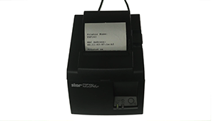 Star Ethernet Receipt Printer Setup