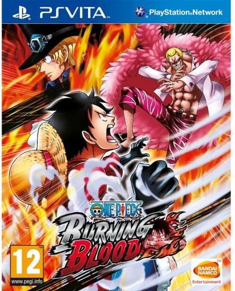 One Piece Burning Blood PS Vita Game