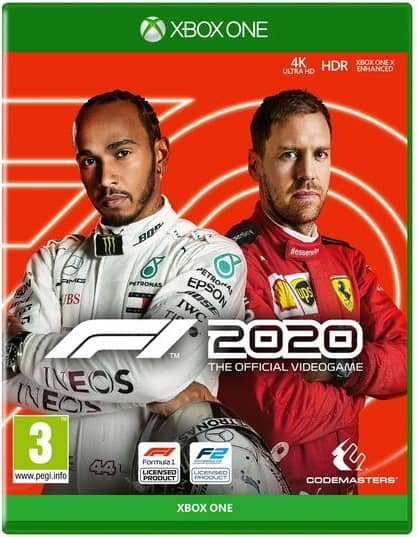 F1 2020 Xbox One Game