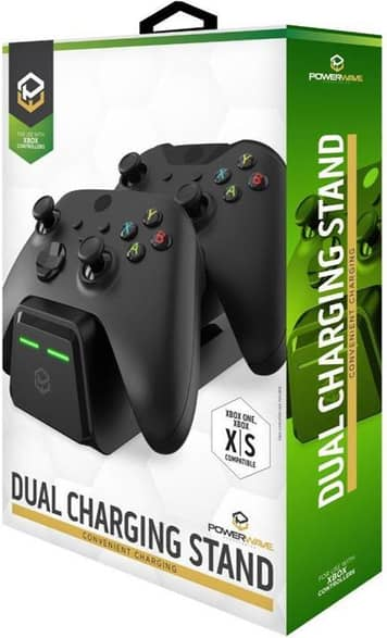 Powerwave Dual Charging Dock Stand for Xbox Series X|S and Xbox One Controllers