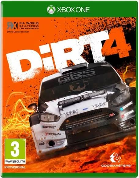 Dirt 4 Xbox One Game