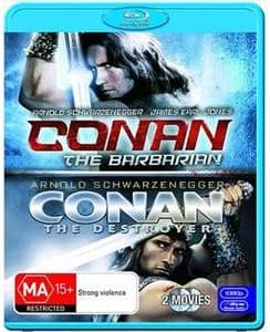 Conan The Barbarian / Conan The Destroyer Blu-ray