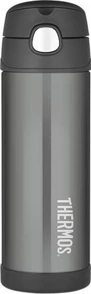 Thermos 470ml Funtainer Drink Bottle Charcoal