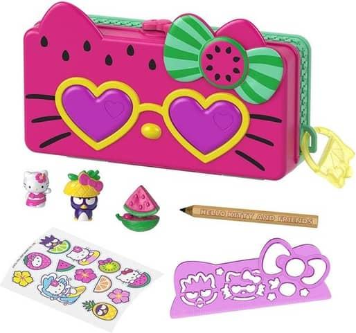 Hello Kitty - Watermelon Pencil Playset